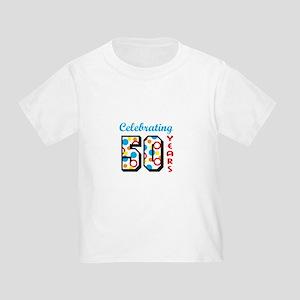 CELEBRATING FIFTY T Shirt
