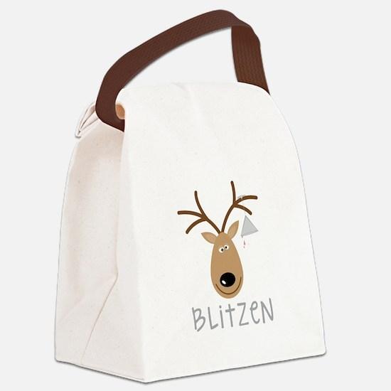 Blitzen Canvas Lunch Bag