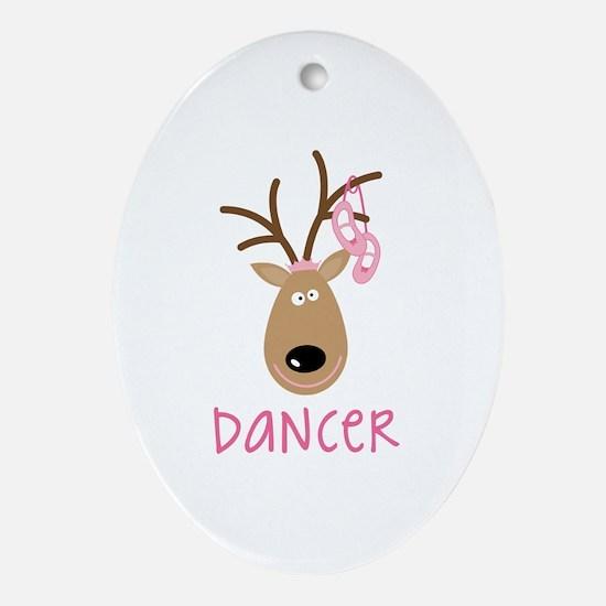 DANCER Ornament (Oval)