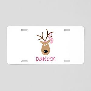 DANCER Aluminum License Plate