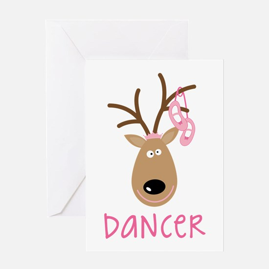 DANCER Greeting Cards