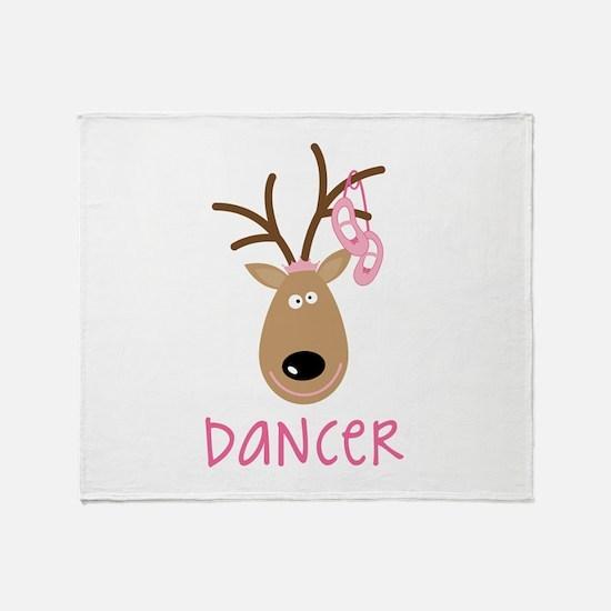DANCER Throw Blanket