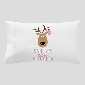 Santas Reindeer Pillow Case