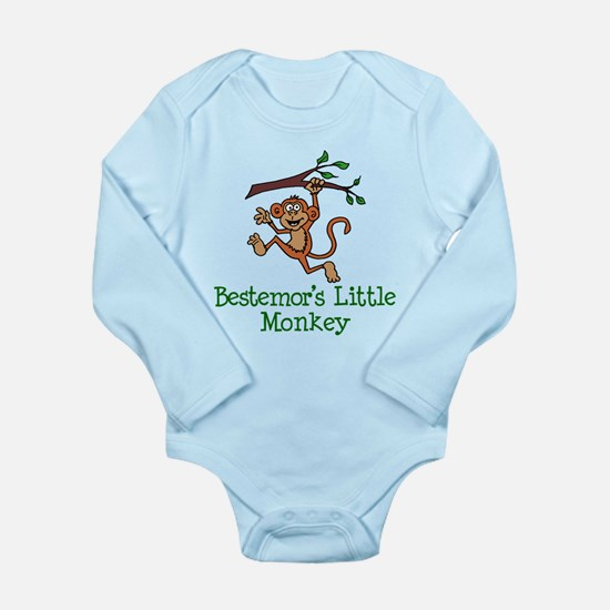 Bestemor's Little Monkey Body Suit