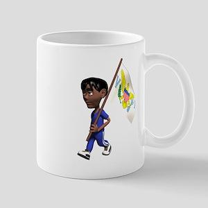 US Virgin Islands Boy Mug