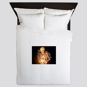 Skeletons Queen Duvet