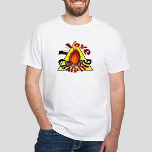 I Love Camping White T-Shirt