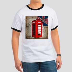 union jack telephone booth T-Shirt