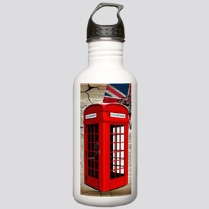 union jack telephone b Stainless Water Bottle 1.0L