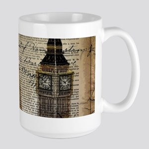 vintage london big ben Mugs