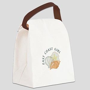 EAST COAST GIRL Canvas Lunch Bag
