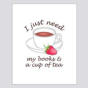 BOOKS AND TEA Posters