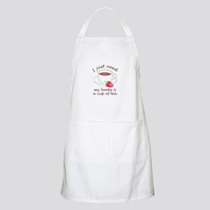 BOOKS AND TEA Apron
