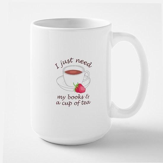 BOOKS AND TEA Mugs