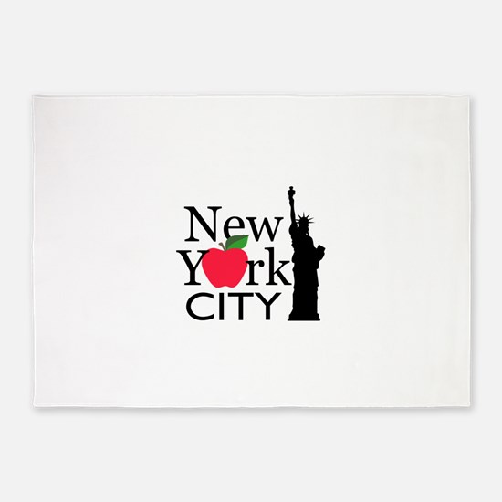 NEW YORK CITY 5'x7'Area Rug