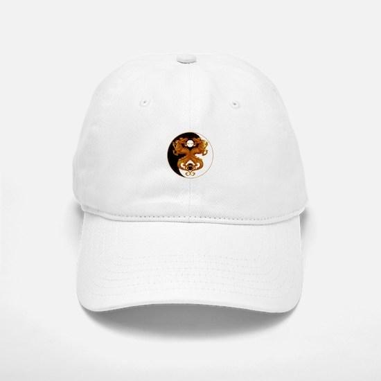 Yin Yang Dragons 7 Baseball Baseball Cap