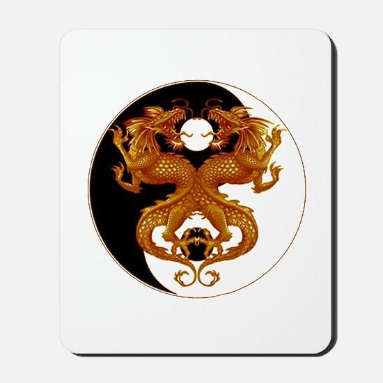 Yin Yang Dragons 7 Mousepad