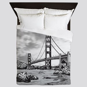 Golden Gate Bridge Queen Duvet