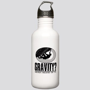 Gravity? Rock Climber Stainless Water Bottle 1.0L
