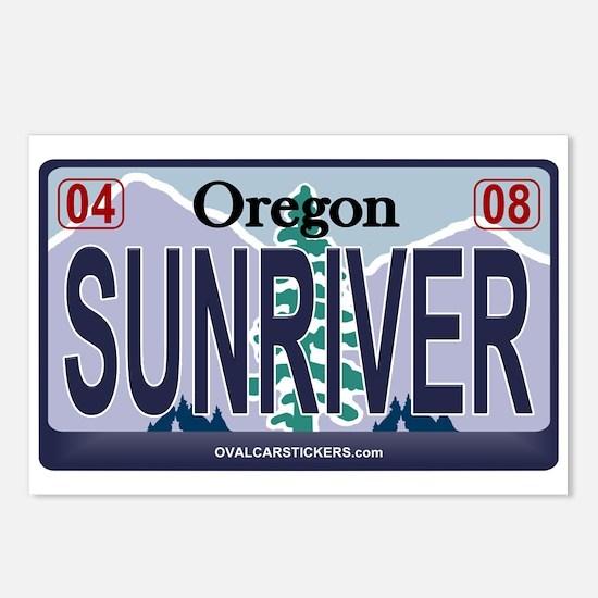 Oregon Plate - SUNRIVER Postcards (Package of 8)