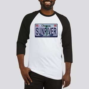 Oregon Plate - SUNRIVER Baseball Jersey