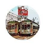 New Orleans Art Round Ornament