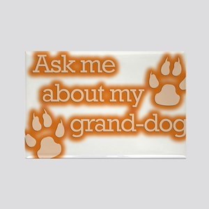 Grand-dog Rectangle Magnet