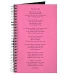 Yoga Poem Pink Journal
