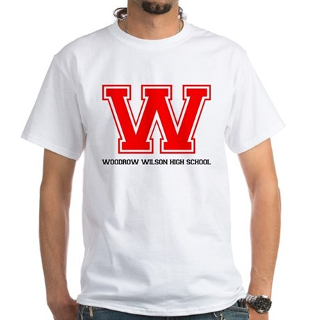 Woodrow Wilson White T-Shirt