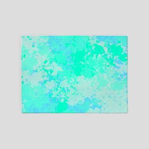 Sea Glass Memories 5'x7'Area Rug