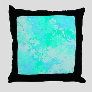 Sea Glass Memories Throw Pillow