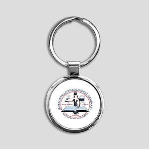 JTS Logo Round Keychain