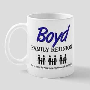Boyd Family Reunion Mug
