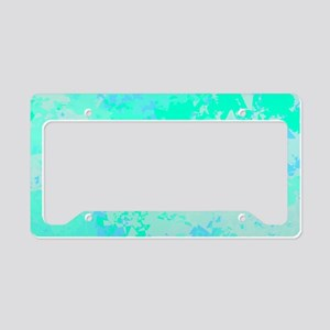 Sea Glass Memories License Plate Holder