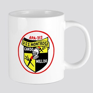 USS Montrose (APA 212) Mugs