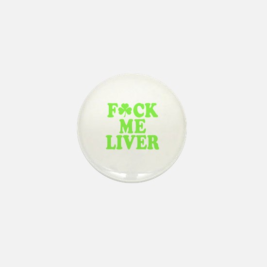 St. Patrick's Day Drinking Party Mini Button