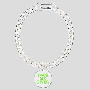 St. Patrick's Day Drinki Charm Bracelet, One Charm