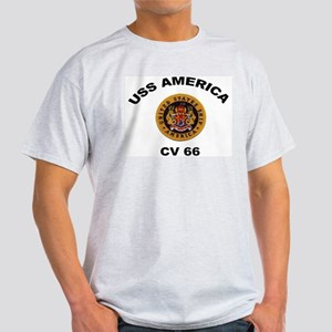 CV-66 USS America Light T-Shirt