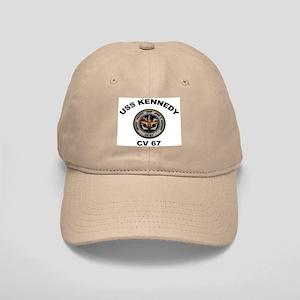 USS John Kennedy CV-67 Cap