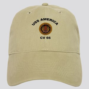 CV-66 USS America Cap
