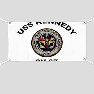 USS John Kennedy CV-67 Banner