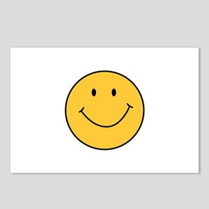 MINI SMILEY FACE Postcards (Package of 8)