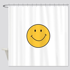 MINI SMILEY FACE Shower Curtain