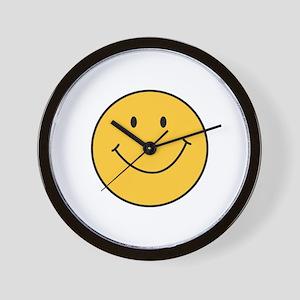 MINI SMILEY FACE Wall Clock