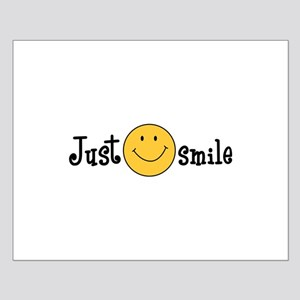 JUST SMILE Posters