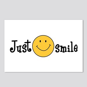 JUST SMILE Postcards (Package of 8)
