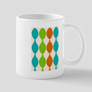 Mid-century modern ovals Mugs
