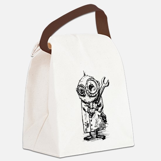 Gribble - the best little scienti Canvas Lunch Bag