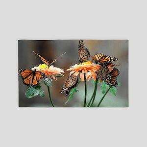 Monarch Butterflies Area Rug