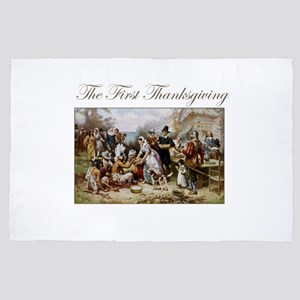 The First Thanksgiving 4' x 6' Rug